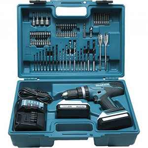 Coffret perceuse à percussion Makita 18 V HP457DWE10