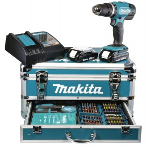 Coffret perceuse Makita 18 V