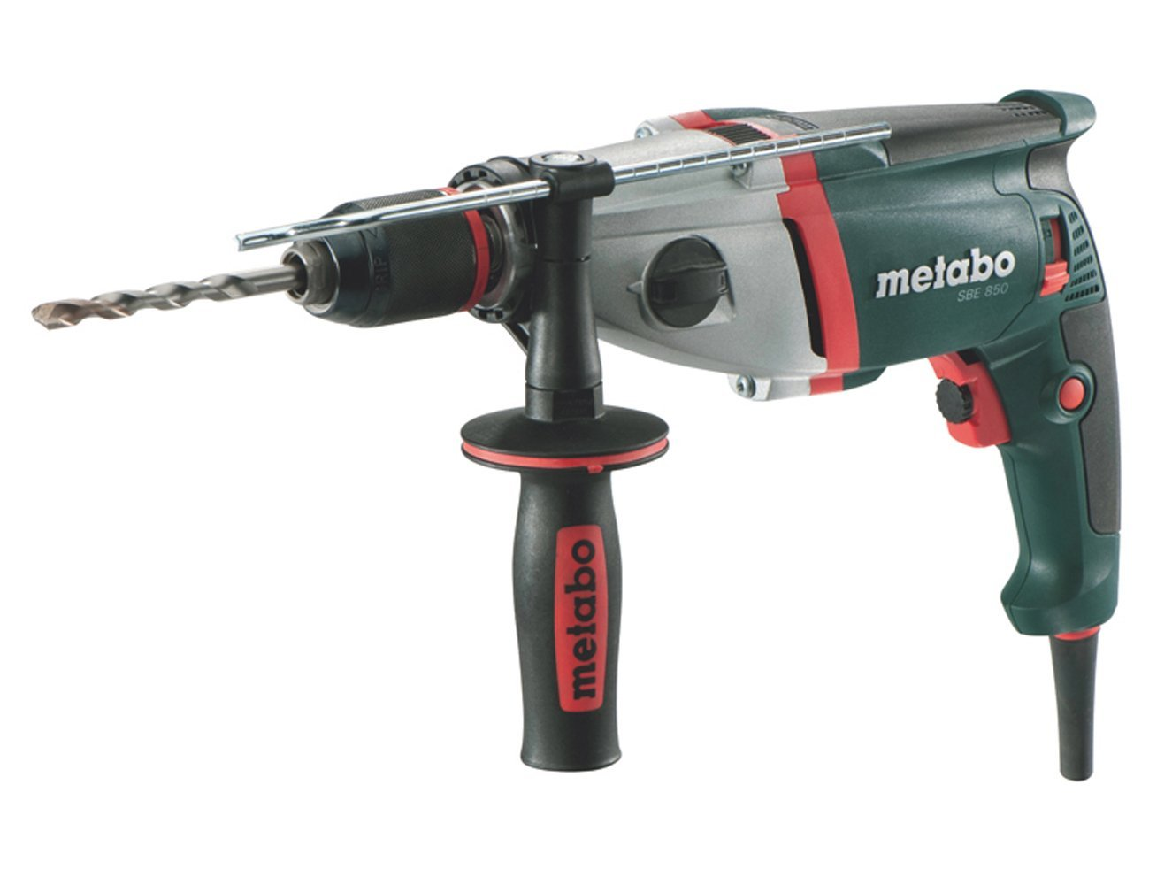 Test perceuse filaire percussion metabo sbe 850 for Perforateur metabo sans fil