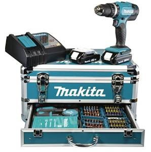 coffret perceuse à percussion makita