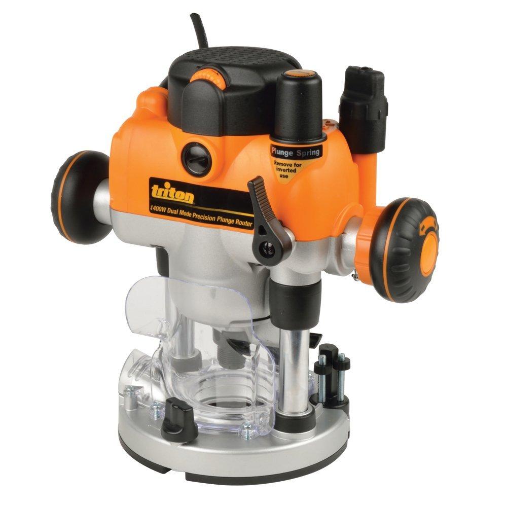Défonceuse Triton 330085/MOF001 de précision bi-mode 1400 W