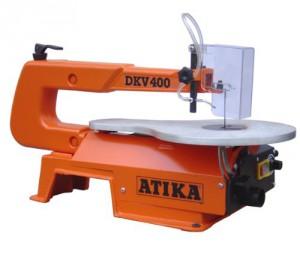 Scie à chantourner avec souffleur Atika DKV 400