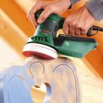 Test ponceuse à bois meuble parquet Bosch PEX 300 AE