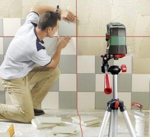 Niveau laser carrelage avec trépied Bosch PCL 20