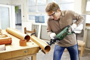 Test scie sabre bois et métal Bosch PSA 700 E Easy