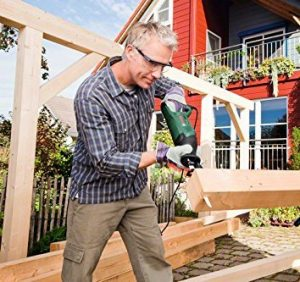 Scie sabre bois bricolage Bosch PSA 900 E 300x282