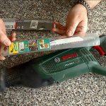 scie sabre électrique Bosch PSA-900-E-universal avec lame bois métal