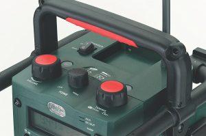 Radio de chantier Metabo RC 14.4-18 accessoires