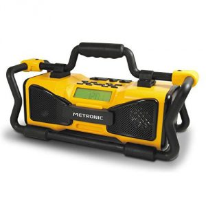 Radio de chantier Metronic 477207