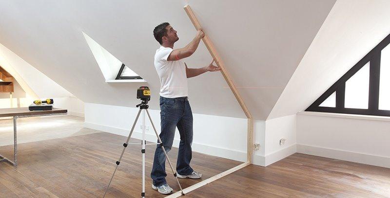 test niveau laser ligne stanley sll 360. Black Bedroom Furniture Sets. Home Design Ideas