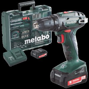 perceuse sans fil Metabo BS 14,4v 2ah SET