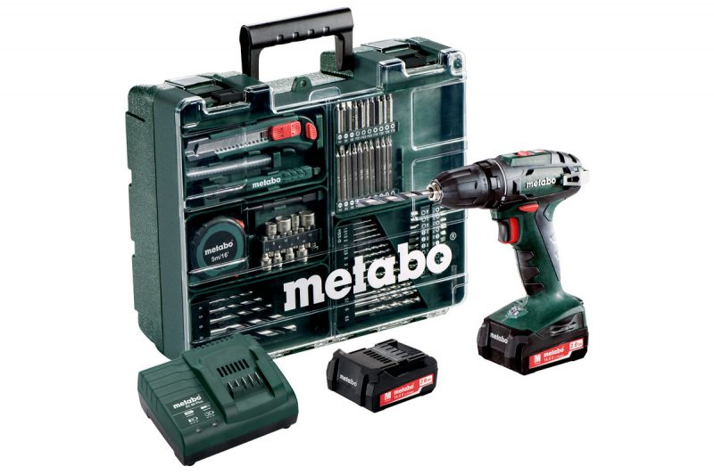 perceuse visseuse Metabo BS 14,4v 2ah SET