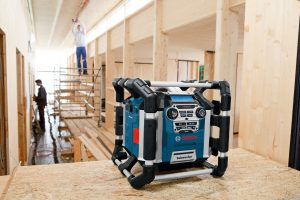radio chantier Bosch GML 50 Professional test
