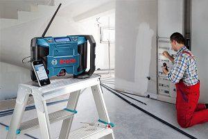 radio de chantier Bosch GML 10,8 V-LI test