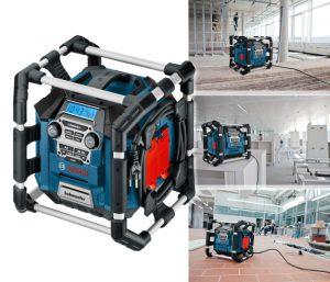 radio de chantier Bosch GML 20 resume
