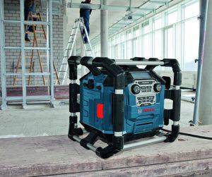 radio de chantier Bosch GML 20 utilisation