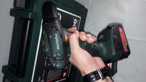 test perceuse visseuse Metabo BS 14,4 SET