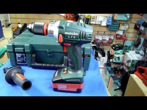 test perceuse visseuse Metabo BS 18 LTX Impuls (réf. 60219150