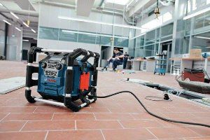test radio chantier Bosch GML 20 Professional