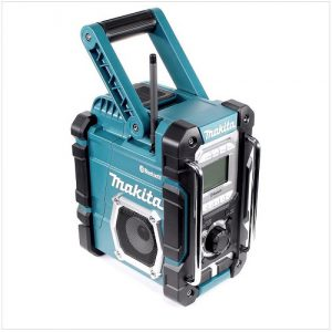 test radio de chantier Makita DMR108