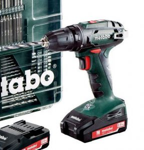 visseuse Metabo BS18LiSet 602207870 2