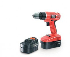 Test Perceuse sans fil Black & Decker  EPC18CABK 18V