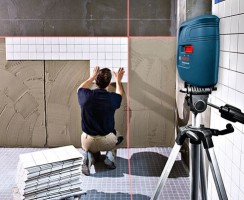 Test niveau laser croix Bosch GLL3X