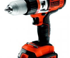 Test Perceuse sans fil à percussion Black & Decker EGBHP1888K