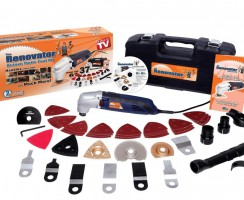 Test de l'outil multifontion Renovator Deluxe
