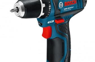 Test Perceuse Visseuse sans fil Bosch 10.8 V