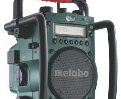 Radio de chantier Metabo RC 14.4-18 : avis et conseils