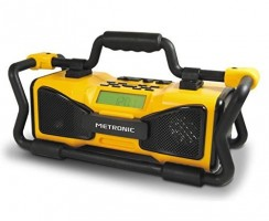 Radio de chantier Metronic 477207 : un très bon rapport qualité/prix