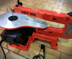 Scie à chantourner sur table Atika DKV 400 : avis et conseils