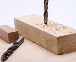 Comment percer du bois avec succès ?