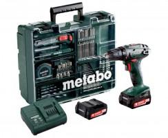 Perceuse visseuse Metabo BS 14,4 SET : un coffret complet de qualité pour les bricoleurs
